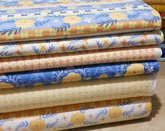 Bundle, 6 prints, Do what you love, Alisse Courter, Camelot Fabrics, Bundle, 1 of each print, quilt cotton