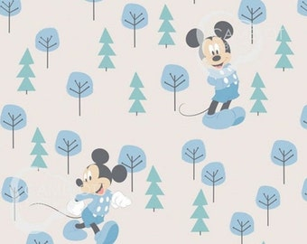 Mickey, 85270404, col 1, Mickey in the meadow,, Camelot Fabrics, cotton, cotton quilt, cotton designer