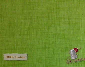 Green Apple, Color Weave, P & B Textiles, multiple quantity cut in one piece, 100% Cotton
