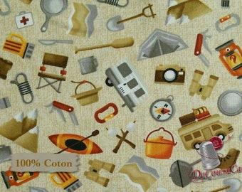 Parks & Recreation, Studio e, patt 3924, multiple quantity cut in one piece, 100% Cotton