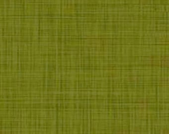 Green olive, Color Weave, P & B Textiles, multiple quantity cut in one piece, 100% Cotton