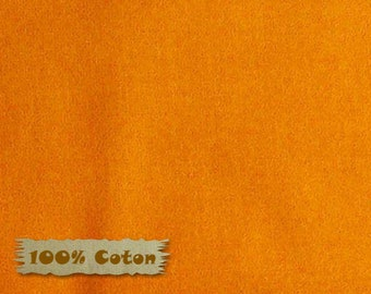 ORANGE, ORA, Crystals, Red Rooster, 26784, 100% Cotton, plain textured, (Reg 2.99-17.99)