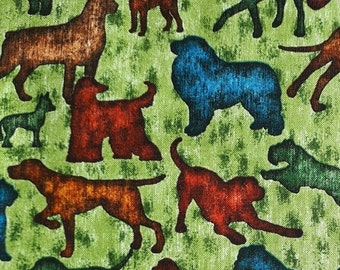 FIN de PIÈCE, Dog, Quiltings Treasures, 100% Cotton
