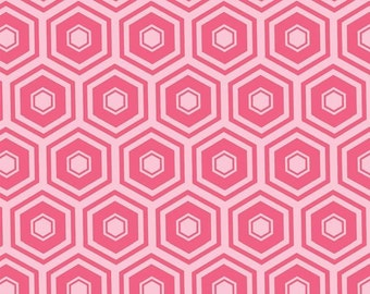 Geranium, honeycomb, 2142, col 31, Mixology, Camelot Fabrics, cotton, cotton quilt, cotton designer