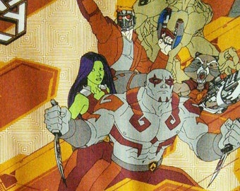 Marvel, Guardians of the Galaxy, 13090101, Camelot Fabrics, cotton, cotton quilt, cotton designer