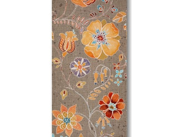 "Panel, Flowers, 18""X44"", 66190107, Free Spirit, Camelot Fabrics, 100% Cotton"