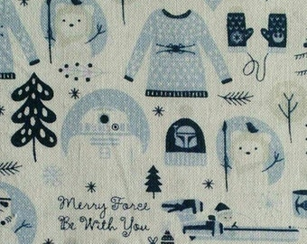 Star Wars, Force be with you, blue, white, 73010447, Camelot Fabrics, cotton, cotton quilt, cotton designer