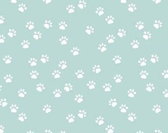 AQUA, Paws, Purrfect Day, 9905, Riley Blake, cotton quilt, cotton designer