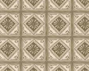 Tiled, Home on the Prairie, 30180305, col 01, Camelot Fabrics, 100% Cotton