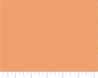 Orange soda, 21008, col 44, Sashiko, Mixology, Camelot Fabrics, cotton, cotton quilt, cotton designer