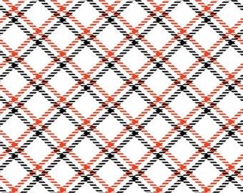 Plaid, white, Dotty for Scottie, Kanvas, 7891, Benartex, cotton, cotton quilt, cotton designer