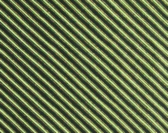 Diagonal, Green, Gold, Black, Stripe, Andover, 9098, cotton, cotton quilt, cotton designer