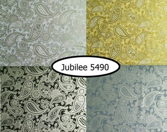 4 prints, Metallic, Jubilee 5490, Benartex, bundle, 1 of each