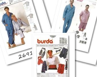 Burda, Man, liquidation pattern, new, uncut