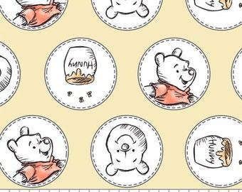 Winnie The Pooh, 85430506, col 01, Camelot Fabrics, cotton, cotton quilt, cotton designer
