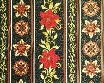 Poinsettia, rayure, Timeless Treasures, 4983, cotton, cotton quilt, cotton designer