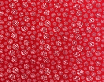 Dandelions, 21181005, col 01, Field of Poppies, Camelot Fabrics, 100% Cotton