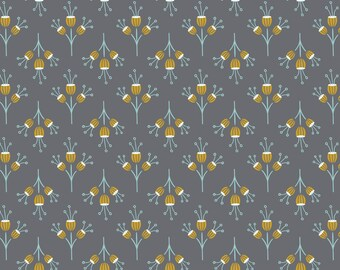 Joséphine, flowers, iron, 2143803, col. 03, Camelot Fabrics, multiple quantity cut in one piece, 100% Cotton