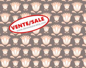 50%, Tulip, Taupe, 2144706-03, Camelot Fabrics, multiple quantity cut in one piece, (Reg 3.76-21.91)