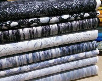 Bundle, 8 motifs, Moon Shadow, Kanvas, Benartex, quilt cotton