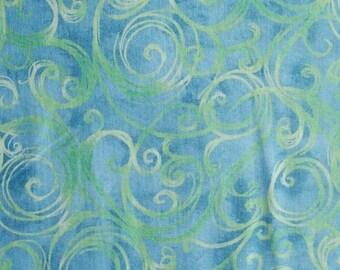 Peasley, blue, green, Studio 8, Quilting Treasures, 7273, cotton, cotton quilt, cotton designer