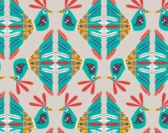 Birds, Birds of Paradise, 28170103, col 02, Camelot Fabrics, 100% Cotton, quilt cotton