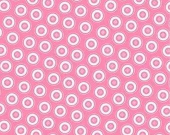 Dotty Buttons Pink, Kanvas, Benartex, 7595, cotton, cotton quilt, cotton designer