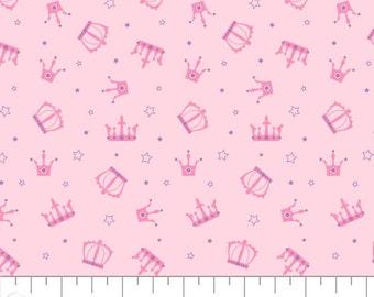 Crowns, Once Upon a Time, 91190206, col 01, Camelot Fabrics, cotton, cotton quilt, cotton designer