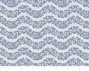 The Alchemy, Wave, 2143306, col 01, Camelot Fabrics, marina, multiple quantity cut in one piece, 100% Cotton