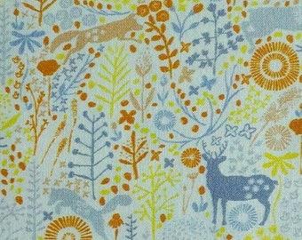Forest animals, Meadow Wildlife, 30190401, col 04, Camelot Fabrics, cotton quilt, cotton designer