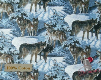 Wolf Scenic, CP66445, Wild Wings, Spring Creative, 100% Cotton, (Reg 2.99-17.99)