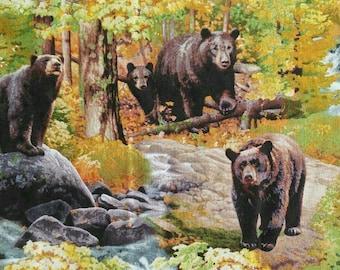 Bear, 9203, Elizabeth's Studio, cotton, cotton quilt, cotton designer