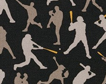 Joueur de baseball, 19135, Robert Kaufman, 100% Cotton, quilt cotton, designer cotton