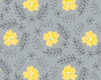 Floral Wreath, Flutter & Buzz, 6141803-01, Camelot Fabrics, multiple quantity cut in one piece, 100% Cotton
