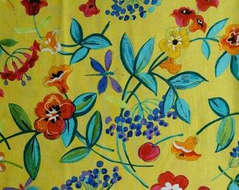 Flower, yellow, Quilting Treasures, 5533, cotton, cotton quilt, cotton designer