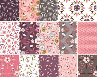 Camelot Fabrics  ~ Captivate ~ /'Floral/' ~ Designer Quilting Cotton ~ FQ