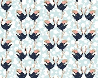 Birds, 29180202, col 02, Mistic Cranes, Camelot Fabric, quilt cotton