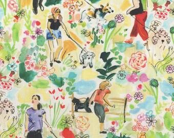 Midsummer dream dog, 1617, Dear Stella, cotton quilt, cotton designer