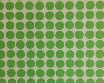 Flourish, 3240206, col 03, Ciana Bodini, Camelot Fabrics, dots, minty, white, multiple quantity cut in one piece, Cotton