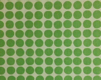Flourish, 3240206, col 03, Ciana Bodini, Camelot Fabrics, dots, minty, white, multiple quantity cut in one piece, 100% Cotton