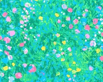 Flower, Painterly Petals, 19149, col 198, Robert Kaufman, 100% Cotton