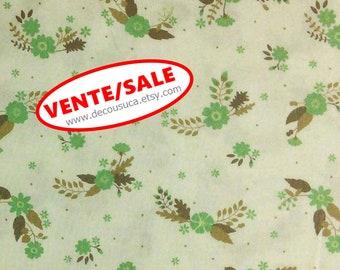 50%, Flourish, 3240205, col 02, Ciana Bodini, Camelot Fabrics, flower,teal, Cotton, (Reg 3.76-21.91)