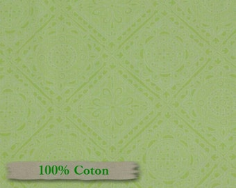 Henryglass, Delicious Wishes, Green, FQ, half-yard, by the yard, multiple quantity cut in one piece, 100% Cotton