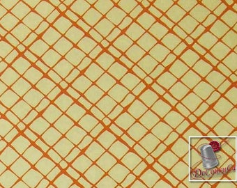 Dont fence me in, orange, peach light, Michael Miller Fabrics, 6909