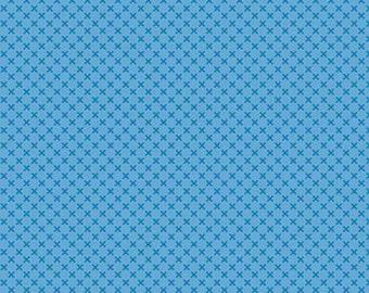 Medium blue, 210, Riley Blake, cotton quilt, cotton designer