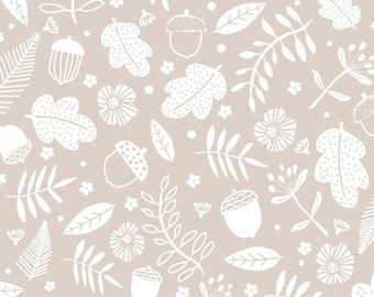 Forest, beige, Watson in the woods, 31180105, col 03, Camelot Fabrics, 100% Cotton, (Reg 2.99-17.99)
