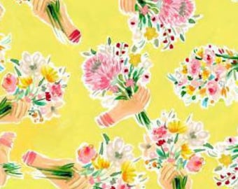 Flowers, 1166, Dear Stella, cotton, cotton quilt, cotton designer