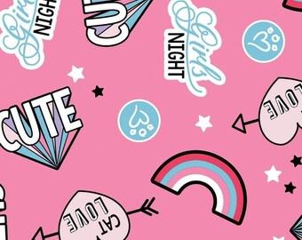 Cat Love, 34180103, col 01, Camelot Fabrics, cotton, cotton quilt, cotton designer