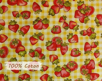 Country Cuisine, 6723, Henry Glass & Co, multiple quantity cut in 1 piece, 100% Cotton