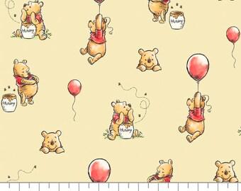Winnie The Pooh, 85430503, col 02, Camelot Fabrics, cotton, cotton quilt, cotton designer